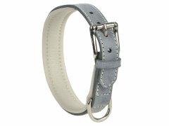 Leder Halsband 37 bis 43cm