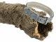 Leder Halsband 49 bis 55cm