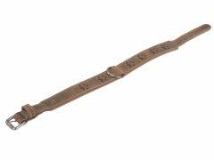 Leder Halsband Vintage 56-63cm